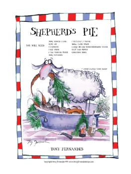 Sepherd's Pie - signed print